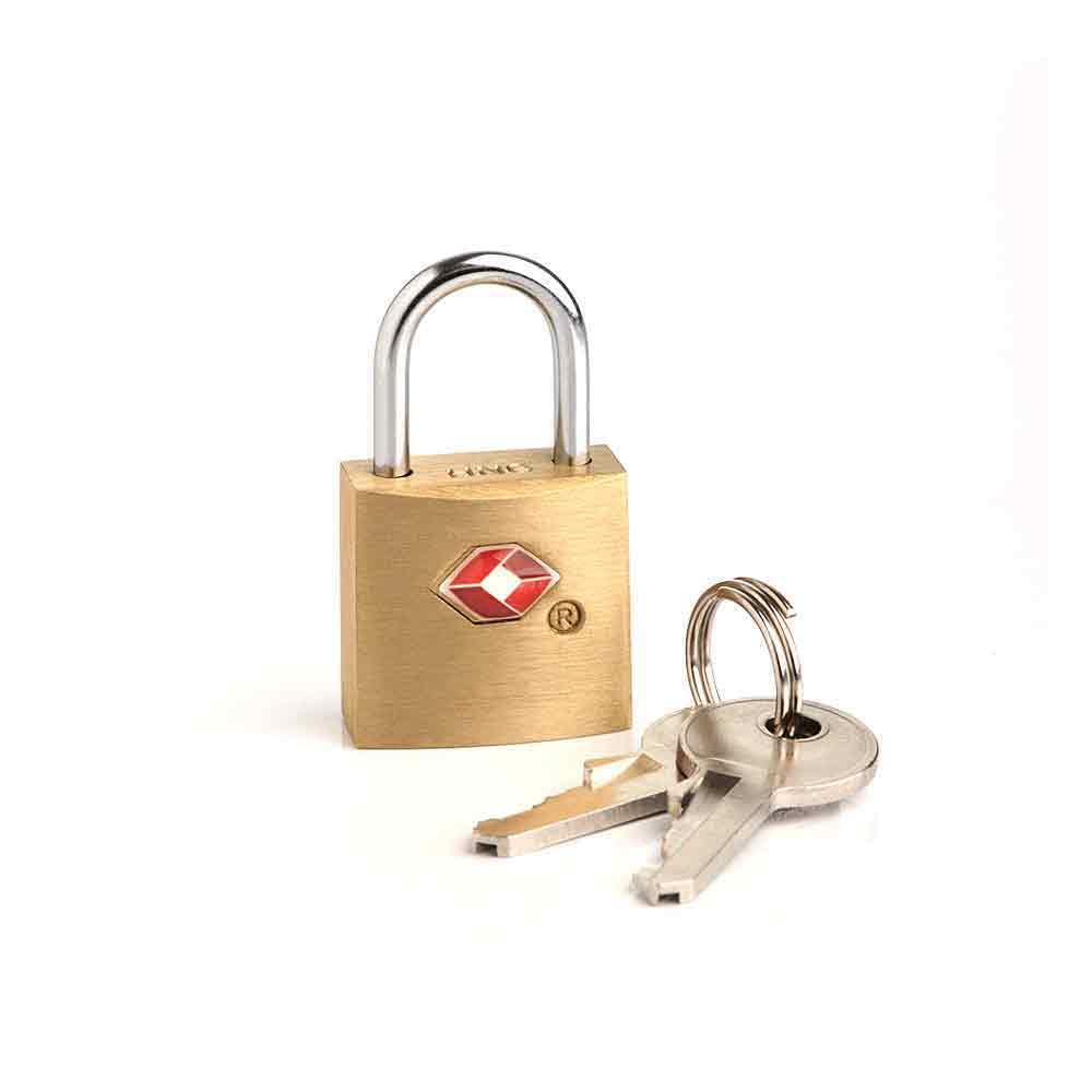 Safe TSA Security Travel Padlock Luggage Suitcase Lock Padlock with 2 Keys