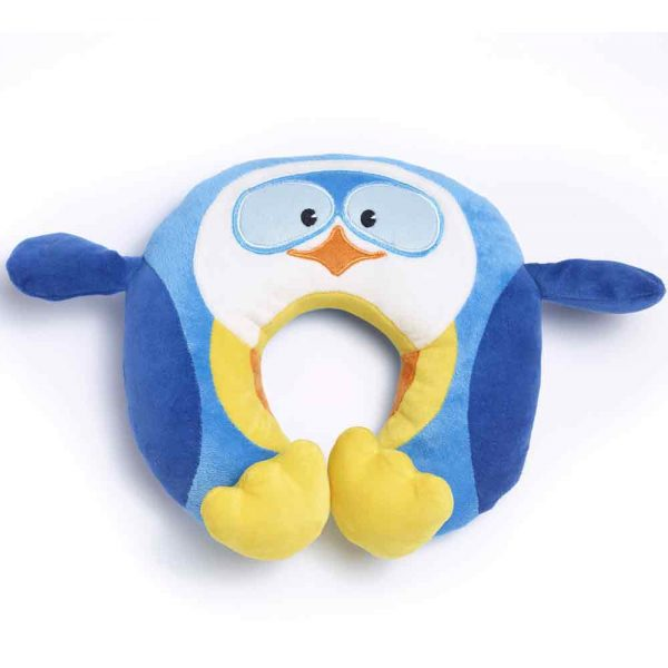 penguin trael pillow for kids travel blue accessories