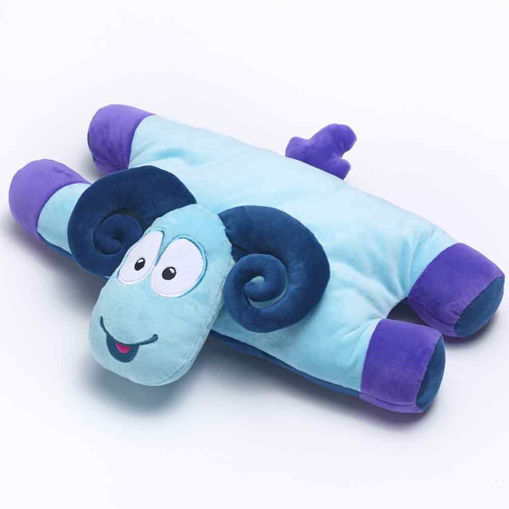 ram shape kids neck pillow