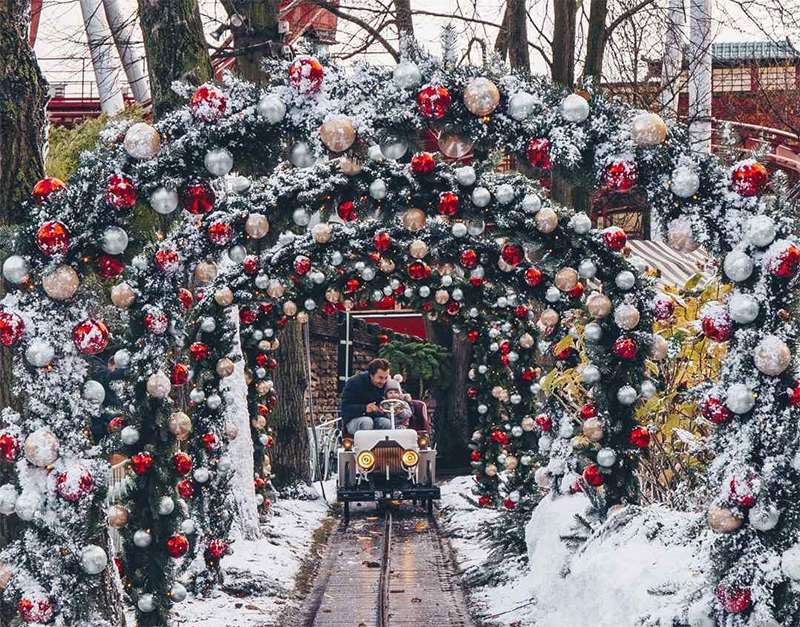 christmas at tivoli gardens copenhagen