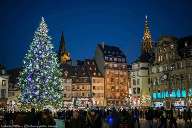 strasbourg christmas tree