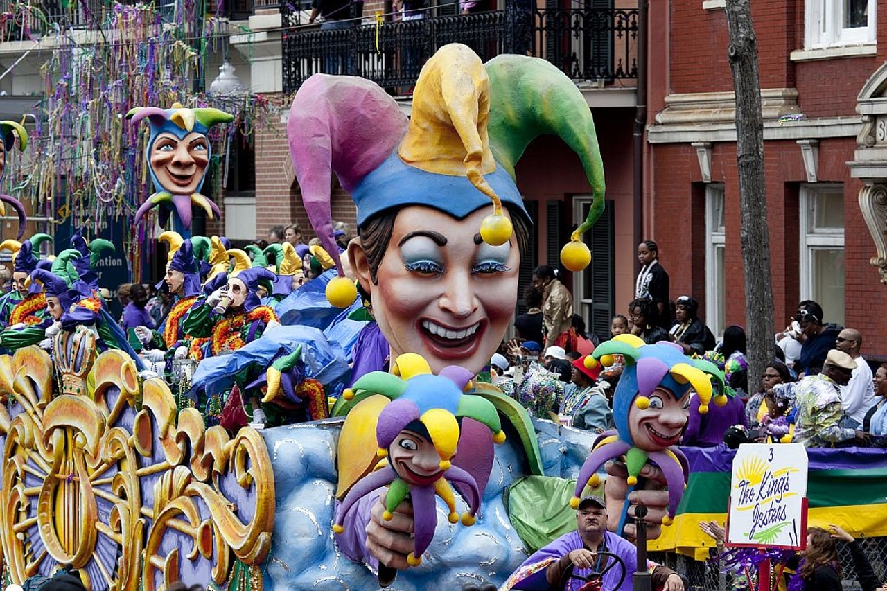 March! The month when New Orleans comes to life!