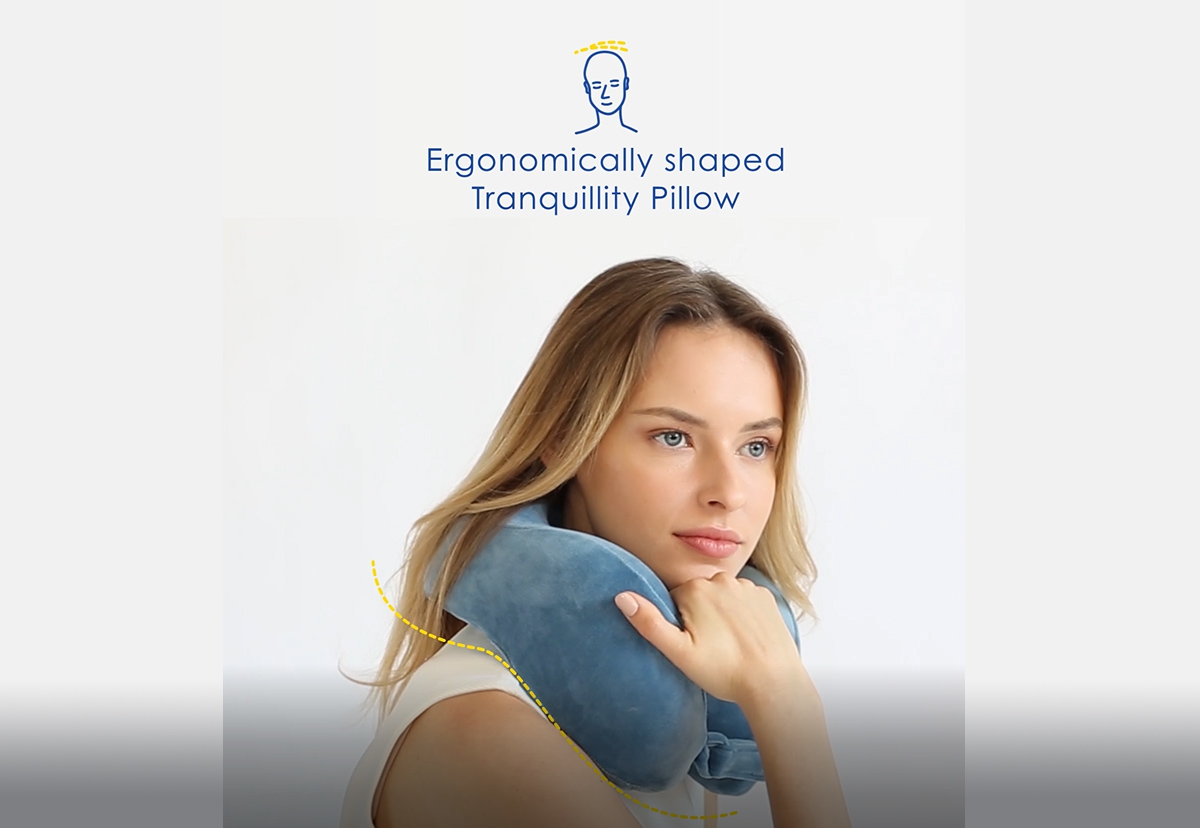 Everything You Wanted to Know About Our Tranquillity Memory Foam Travel Pillow